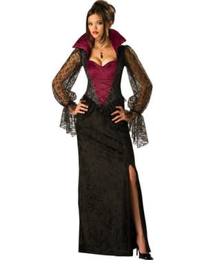 Fato de vampira da meia-noite para mulher