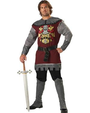 Nobler Kämpfer Kostüm für Herren