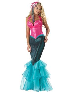 Sjø Havfrue Kostyme til Damer
