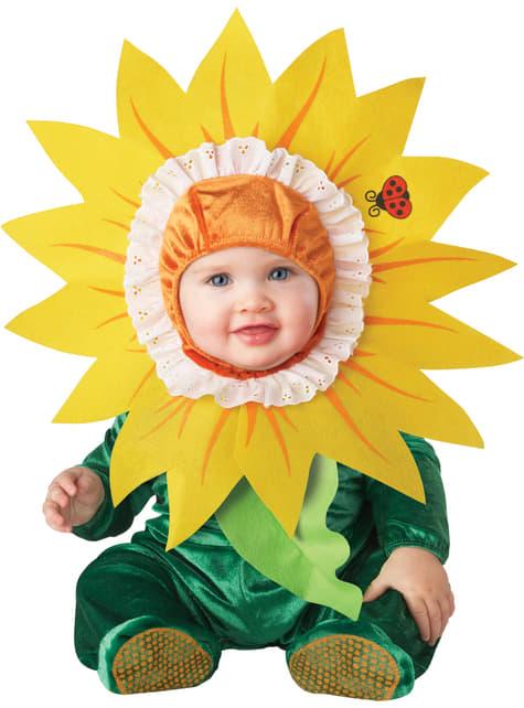 Fato de flor doce para bebé