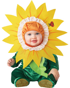 Niedliches Blumen Kostüm für Babys