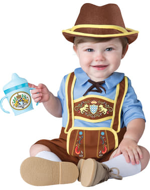 Maskeraddräkt Bayersk pojke för bebis