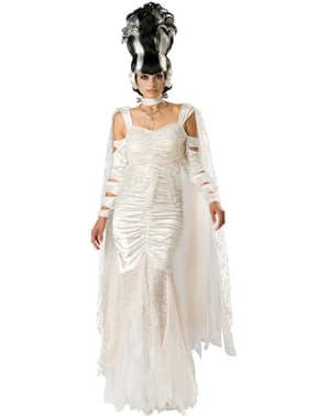 Disfraz de novia de Frankie para mujer
