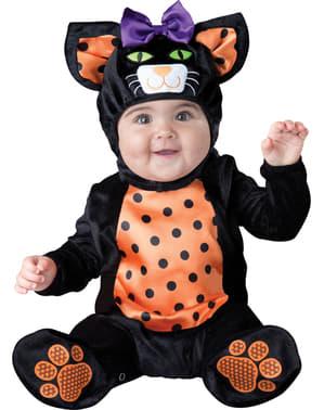 Disfraz de gatito coqueto para bebé