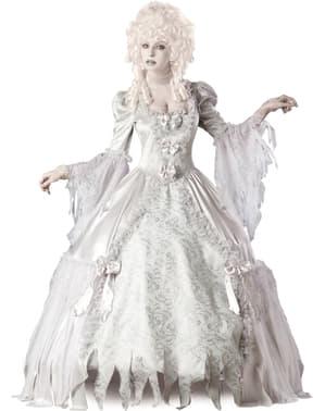 Spøkelsesgrevinne Kostyme for Dame