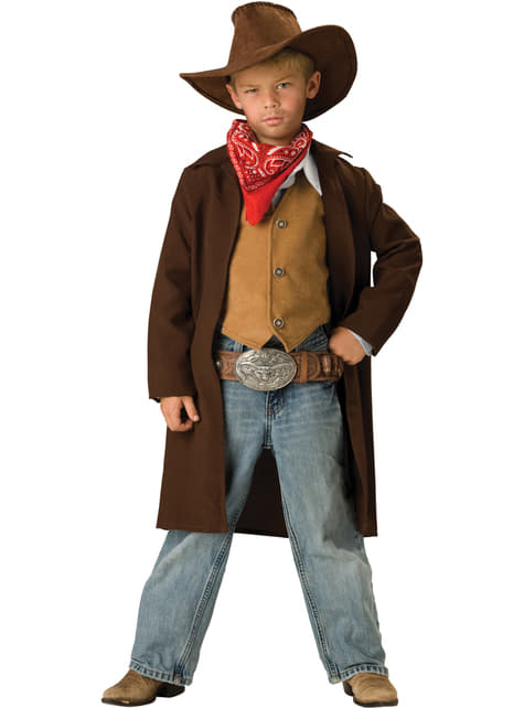 Boy's Brave Cowboy Costume