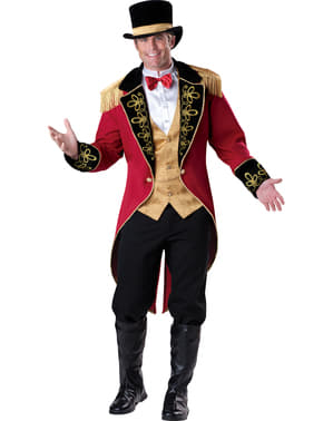 Disfraz de domador elegante para hombre