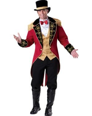 Елегантен мъжки костюм на дресьор на лъвове