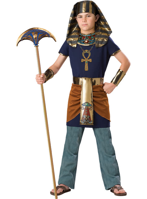 Chlapecký kostým nepřemožitelný faraon