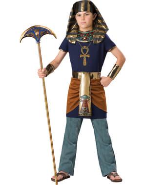 Fato de faraó triunfante para menino