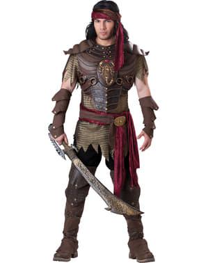 Fato de guerreiro do deserto para homem