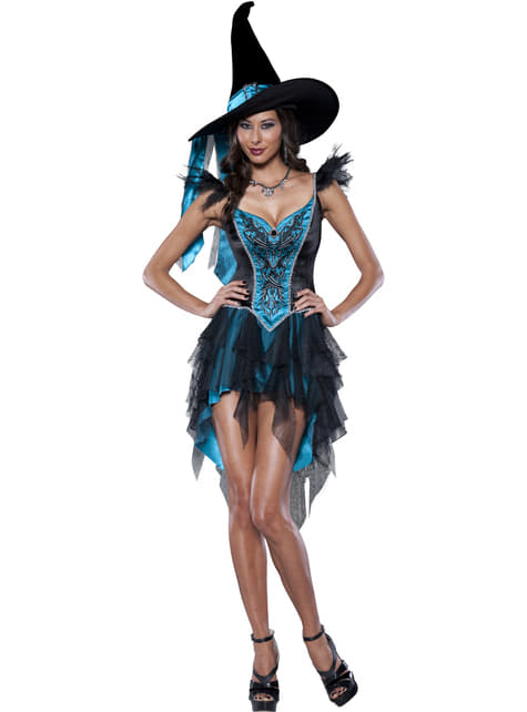 Women's Naughty Little Witch Costume
