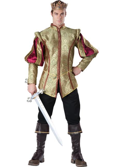 Men's Renaissance King Costume