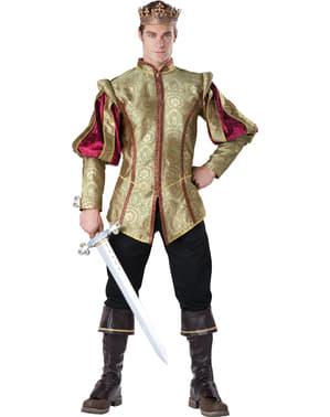 Costume da re del rinascimento per uomo