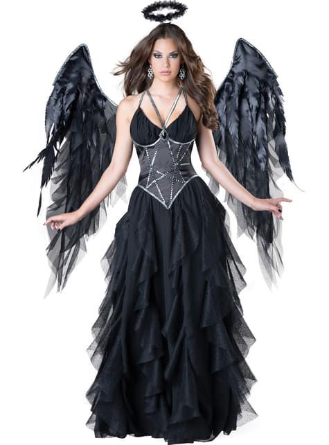 Costum de regină întunecată pentru femeie