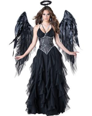 Déguisement reine Ange déchu femme