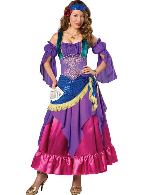 Zigeuner waarzegster Kostuum voor vrouw