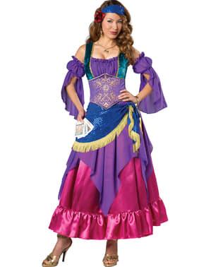 Hellseherische Zigeunerin Kostüm für Damen