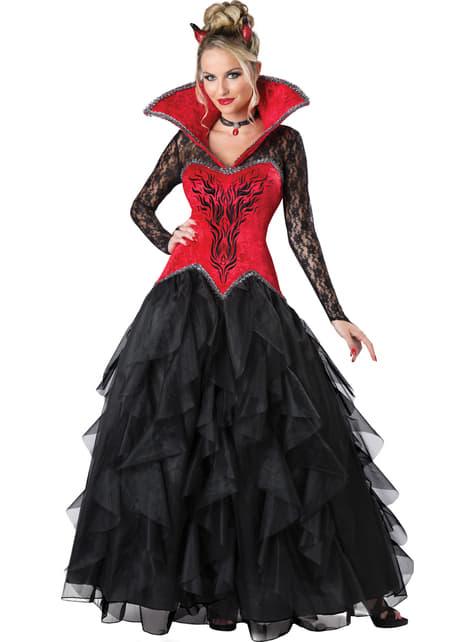 Disfraz de demonio tentativo para mujer