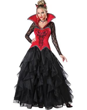 Costum de demon tentant pentru femeie