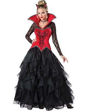 Verführerisches Dämon Kostüm für Damen