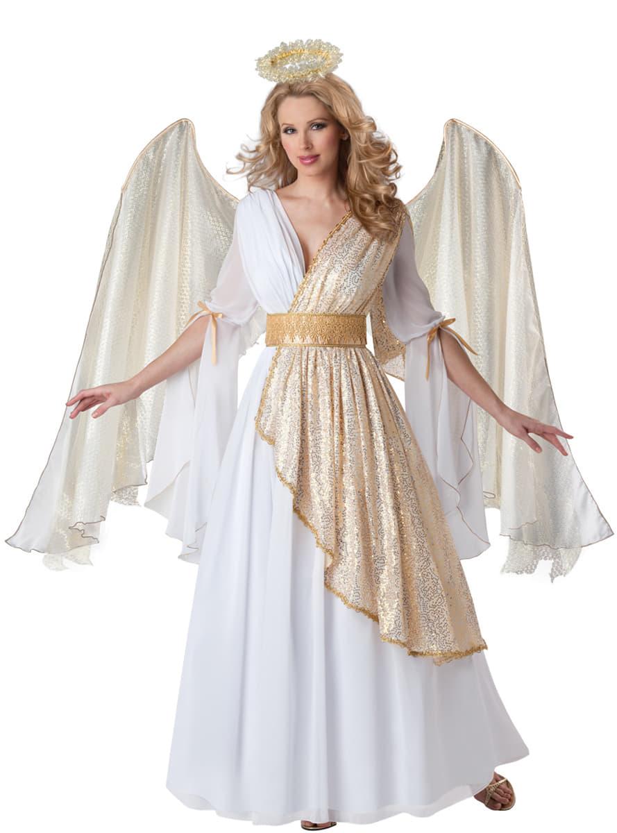 Disfraz de ngel celestial deluxe para mujer funidelia - Disfraces de angel para nina ...