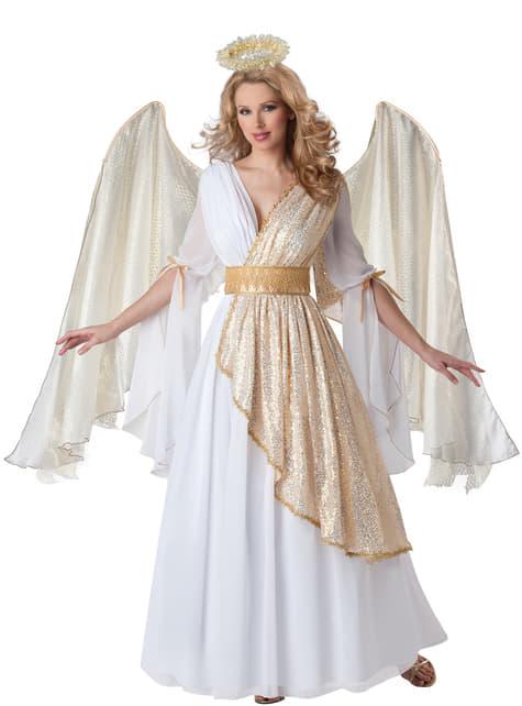 Disfraz de ángel celestial Deluxe para mujer