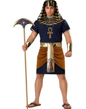 Triumphierender Pharao Kostüm für Herren große Größe