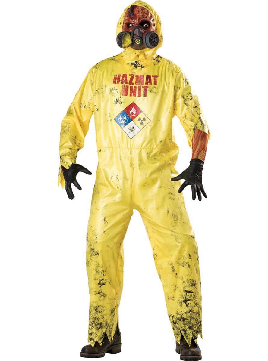 radioaktiver zombie kost m f r herren funidelia. Black Bedroom Furniture Sets. Home Design Ideas