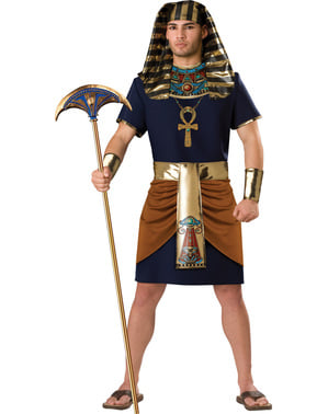 Disfraz de faraón triunfante para hombre