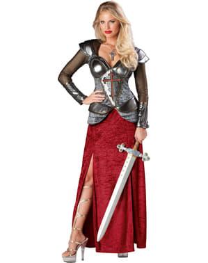 Costume da Giovanna d'Arco per donna