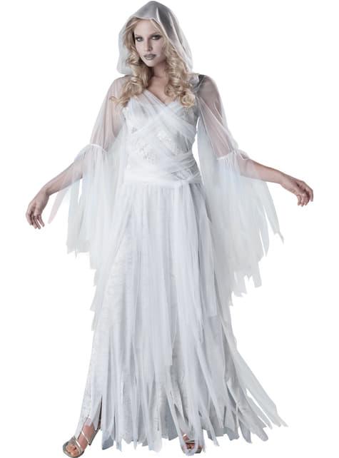 Fato de fantasma elegante para mulher