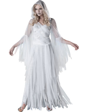 Elegantes Gespenster Kostüm für Damen
