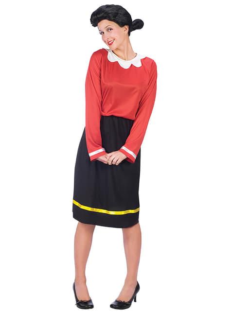 Disfraz de Olivia Popeye para mujer