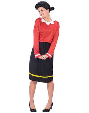 Жіночий оливковий ой-поп-костюм