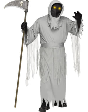Men's Ghostly Death Costume