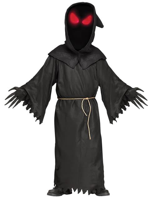 Disfraz de fantasma mirada siniestra para hombre