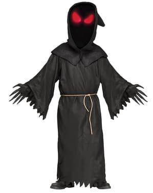 Costume da fantasma sguardo sinistro per uomo