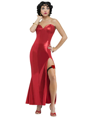 Deluxe Betty Boop Kostyme Dame