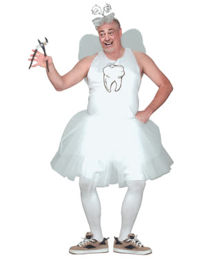 Men's Plus Size Tooth Fairy Costume