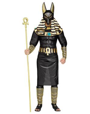 Disfraz de dios Anubis para hombre