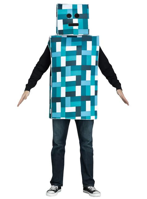 Robot Minecraft Adult Costume