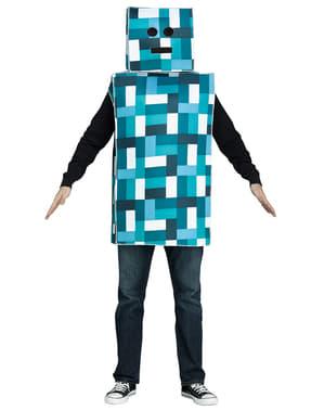 Déguisement Robot bleu adulte