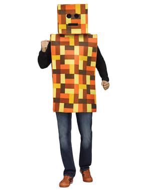 Disfraz de Mine robot craft para adulto