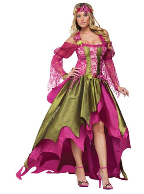 Disfraz de ninfa del Renacimiento para mujer