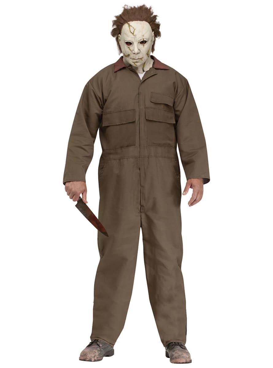 Disfraz De Michael Myers Halloween Rob Zombie Para Hombre Have Fun - Disfraz-de-halloween-para-hombre