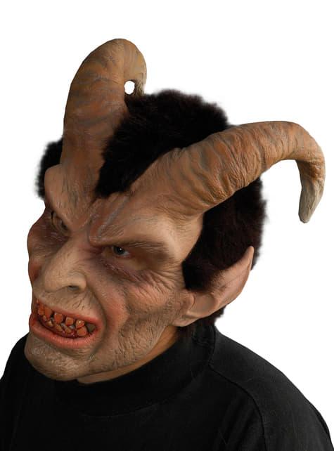 Máscara de demonio malvado para adulto