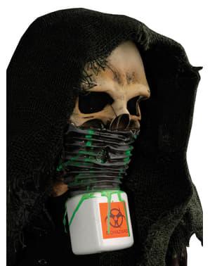 Maschera da scheletro nucleare per adulto