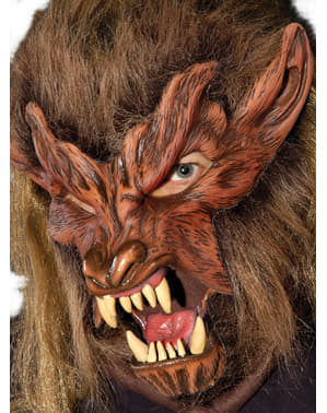 Adult's Solitary Werewolf Mask