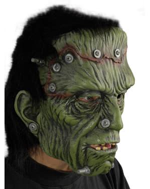 Máscara do monstro Frankie para adulto
